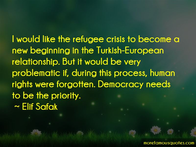 Quotes About European Refugee Crisis