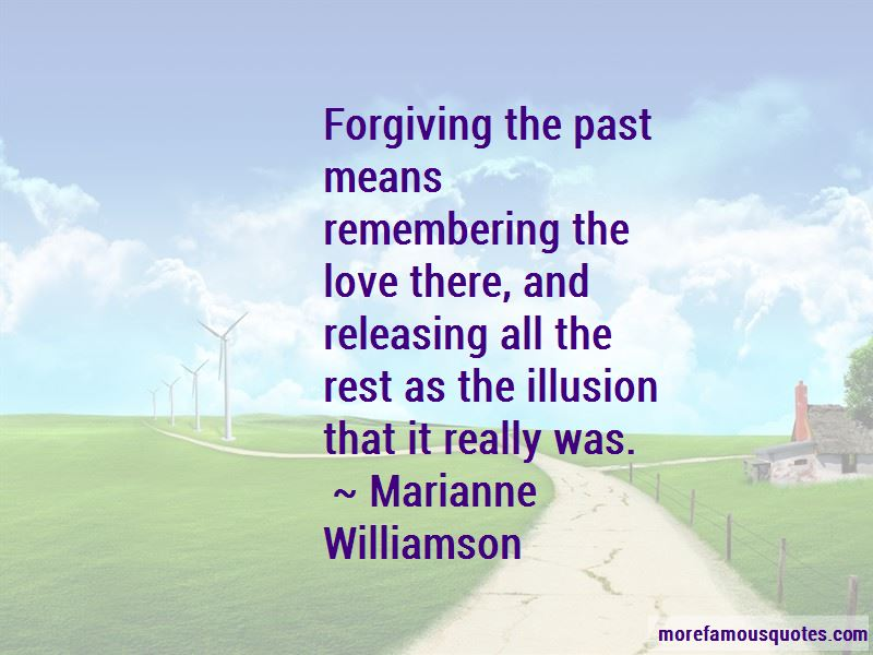 Quotes About Forgiving The Past