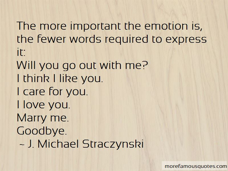 Quotes About I Think I Like You