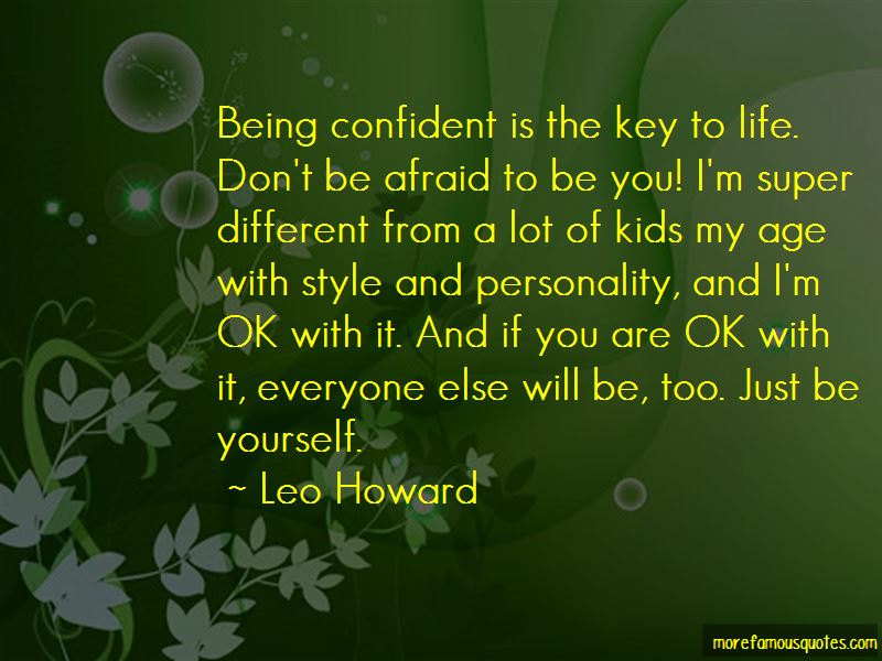 Quotes About Just Be Yourself