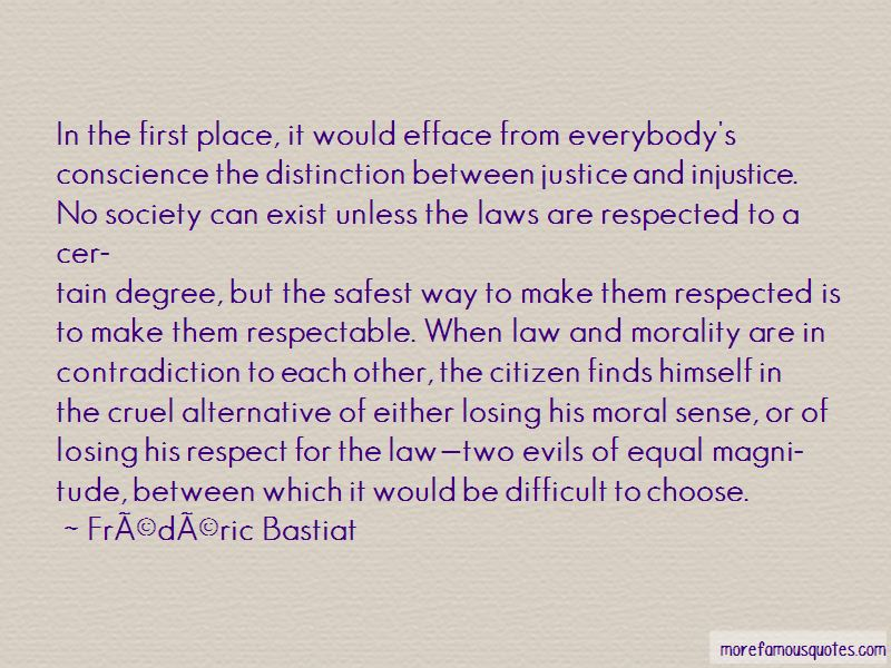 Quotes About Law And Morality