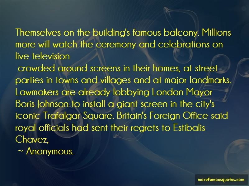 Quotes About London Landmarks