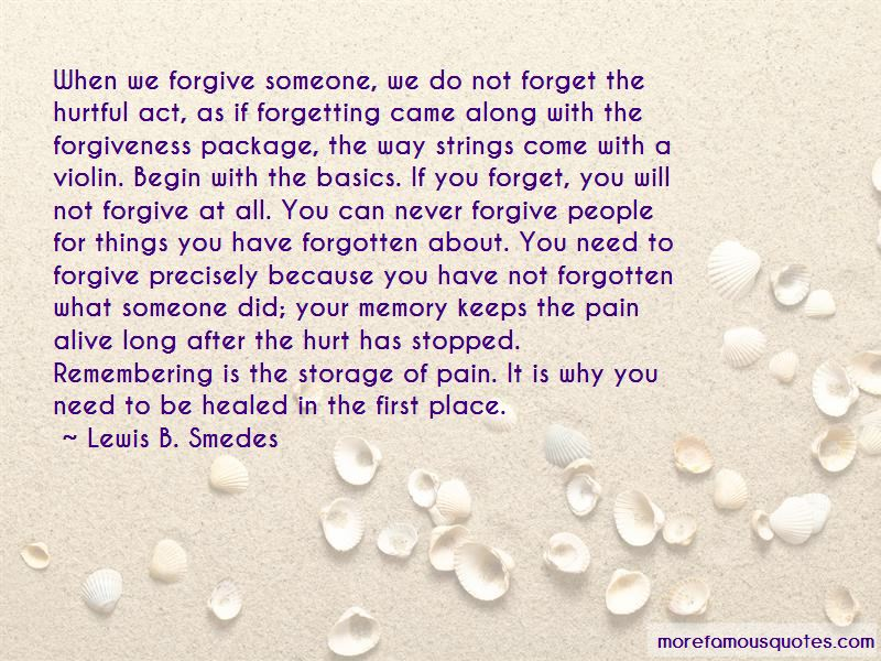 Quotes About Never Forgetting What Someone Did To You