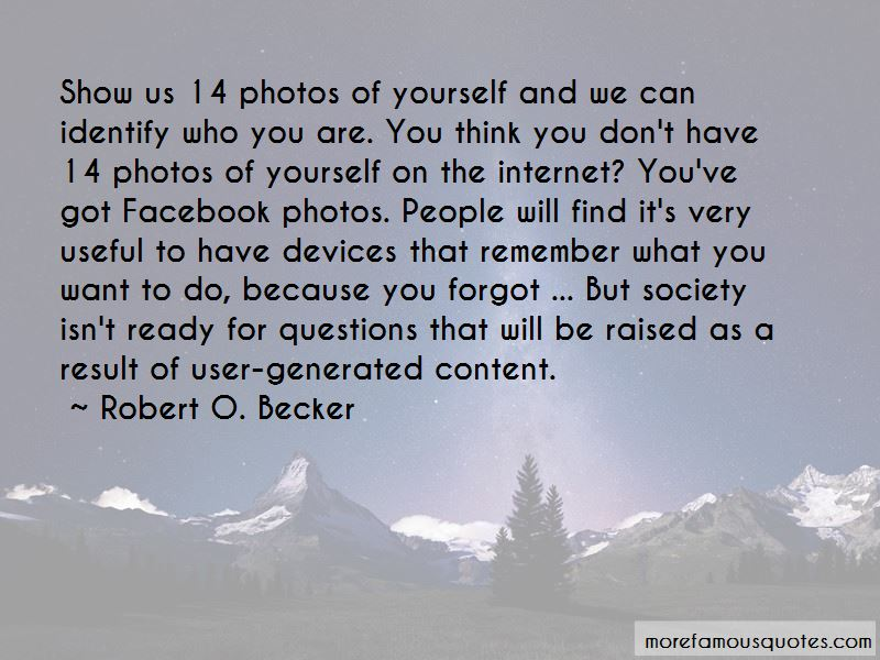Quotes About Photos Of Yourself
