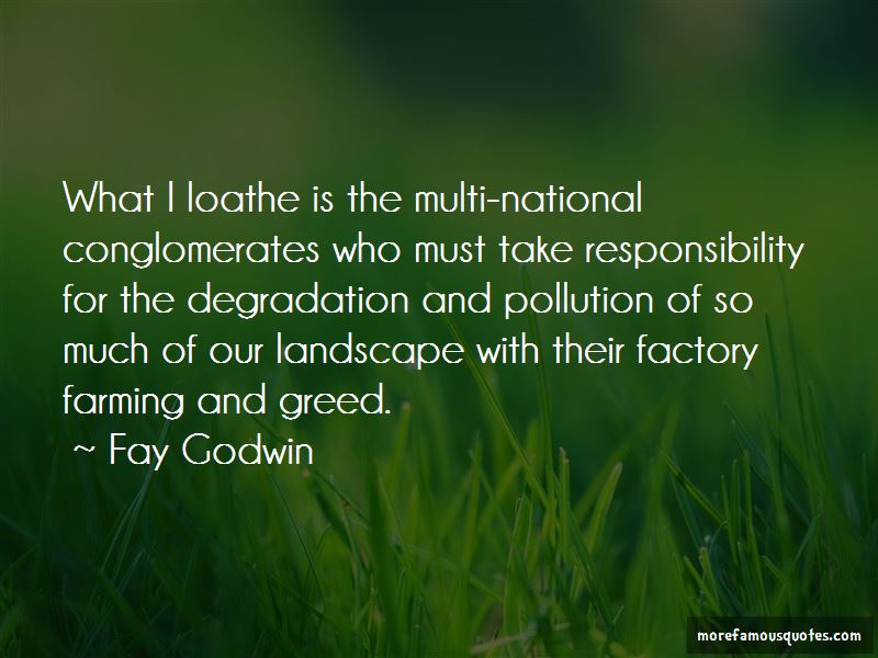 Pollution Responsibility Quotes Pictures 2