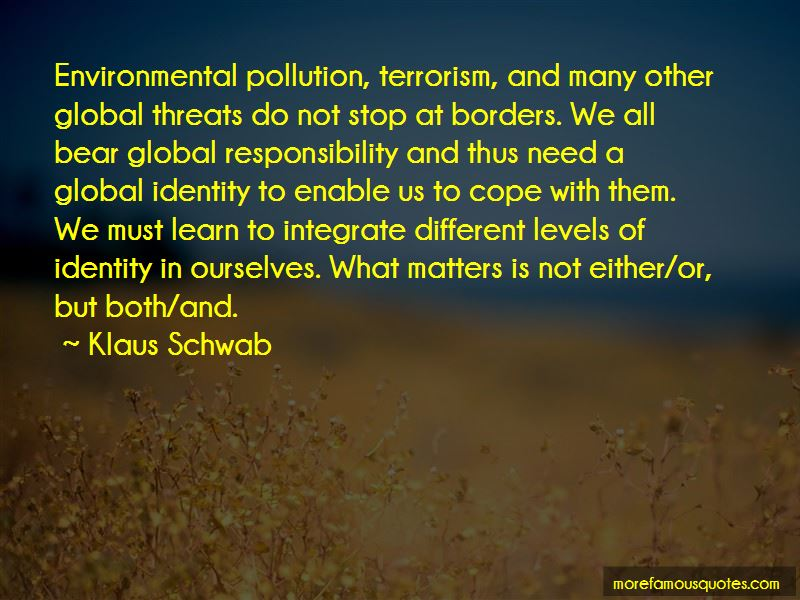 Pollution Responsibility Quotes Pictures 4