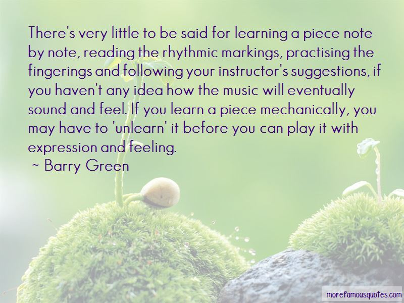 Quotes About Practising Music