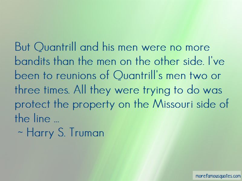 Quotes About Quantrill