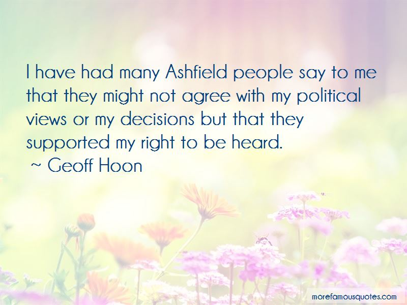Quotes About Right To Be Heard
