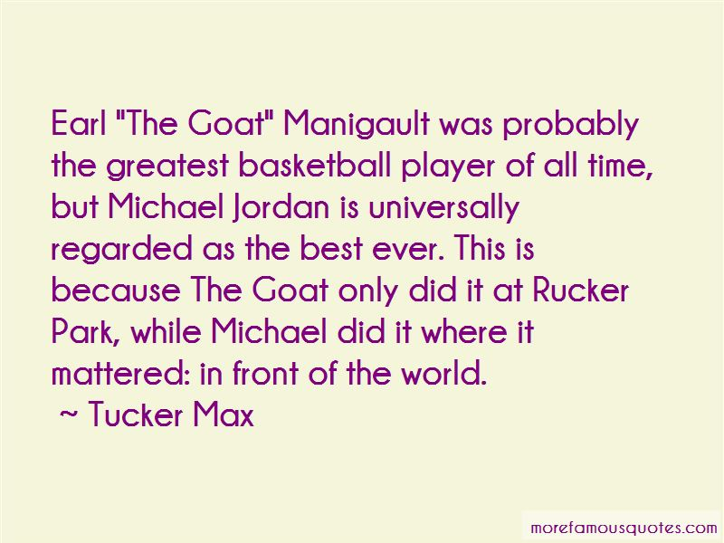 Quotes About Rucker Park
