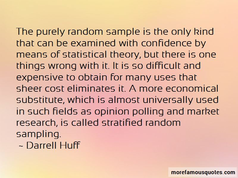 Sampling In Research Quotes Pictures 2