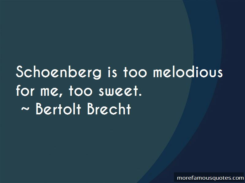Schoenberg Quotes Pictures 3