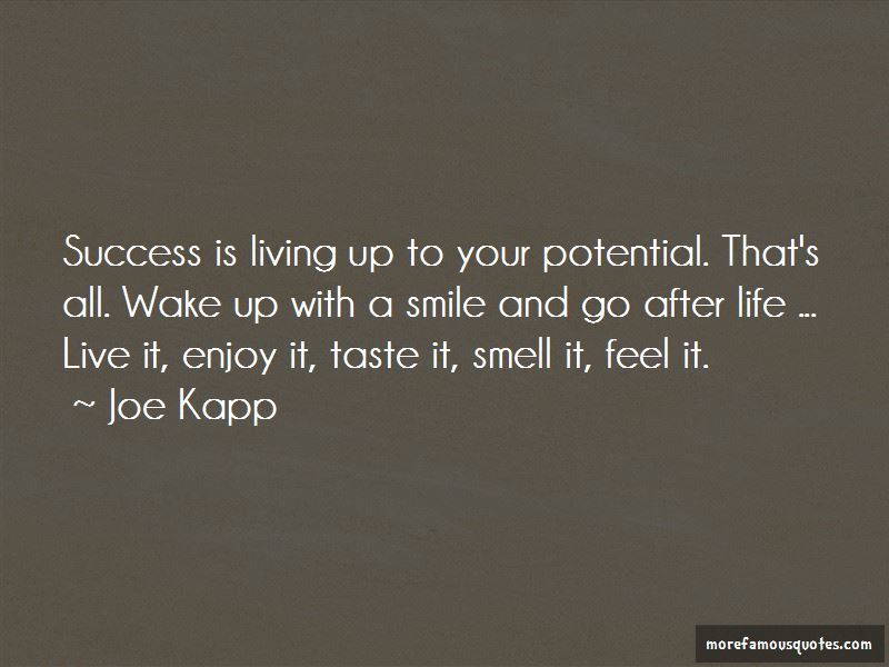 Quotes About Smile And Success