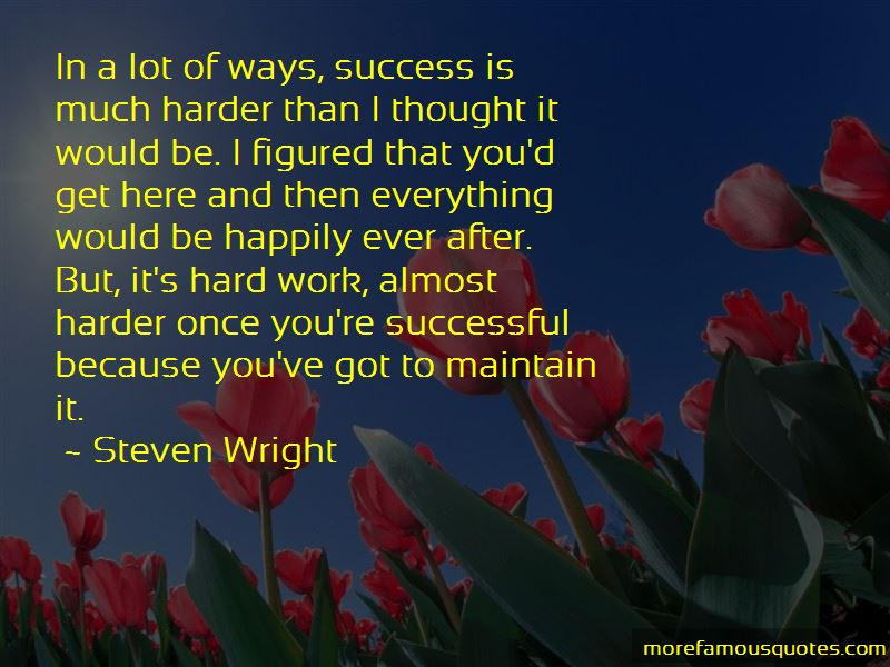 Success After Hard Work Quotes Pictures 4
