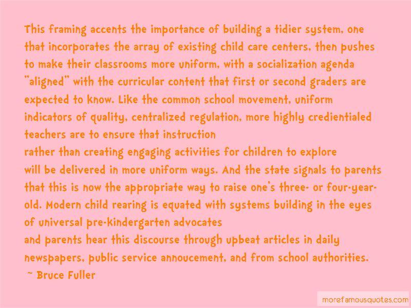 Child Care Quotes Unique Quotes About The Importance Of Child Care Top 2 The Importance Of