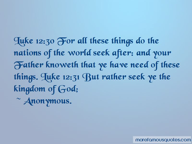 Quotes About The Kingdom Of God
