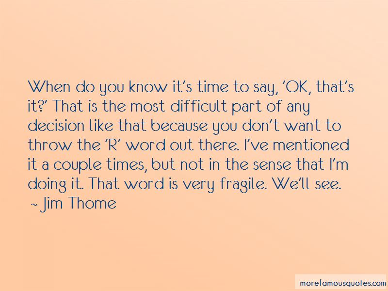 Quotes About The R Word