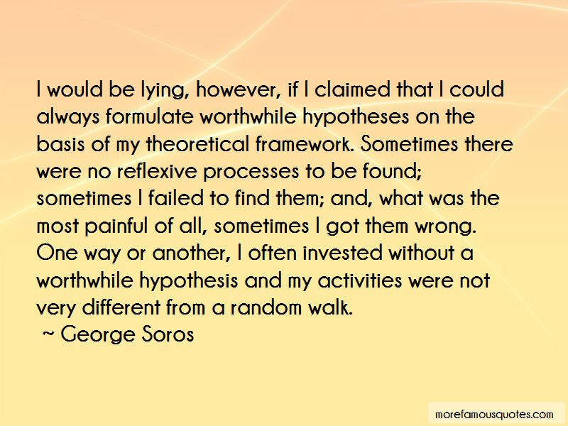 Quotes About Theoretical Framework