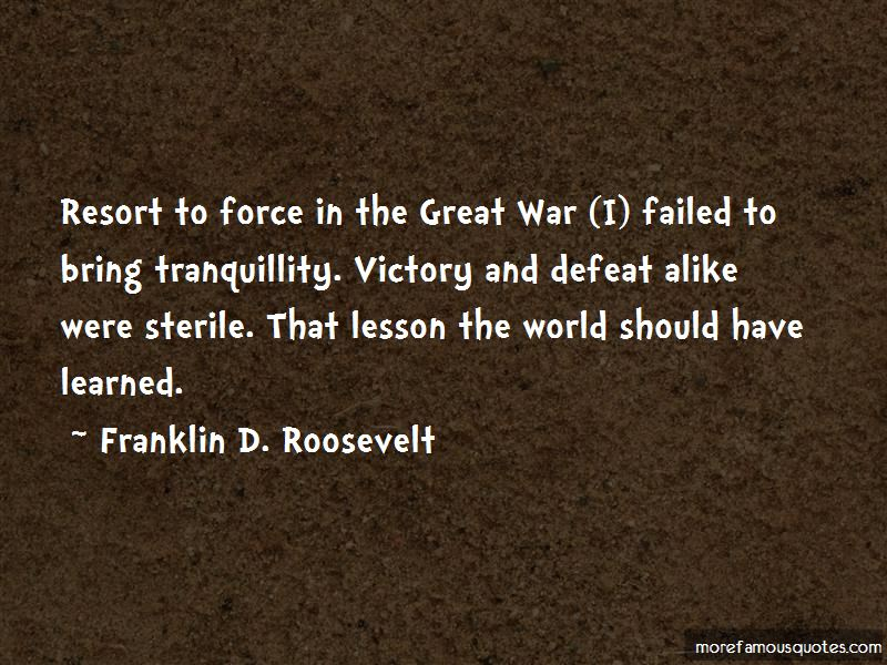 Quotes About Victory And Defeat