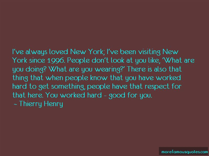 Quotes About Visiting New York