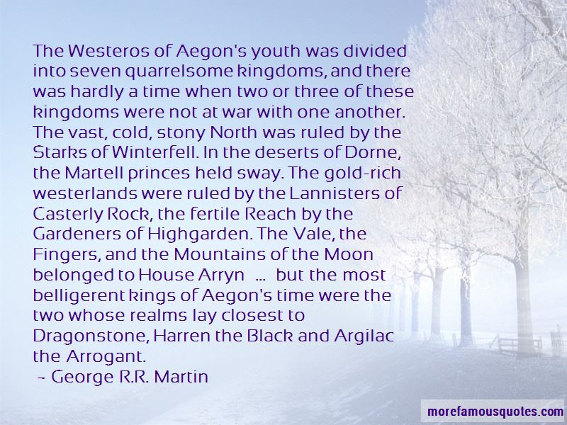 Quotes About Westeros