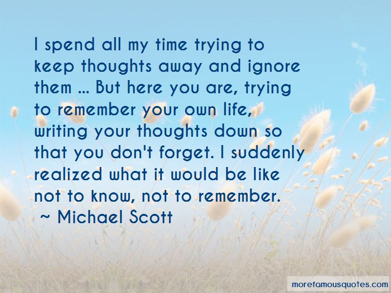 Writing Down Your Thoughts Quotes Pictures 2