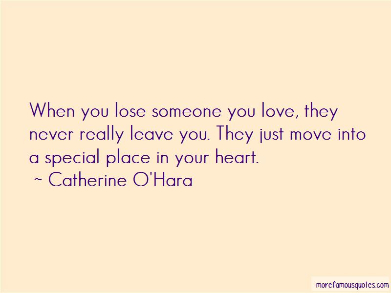 To Lose Someone Special Quotes