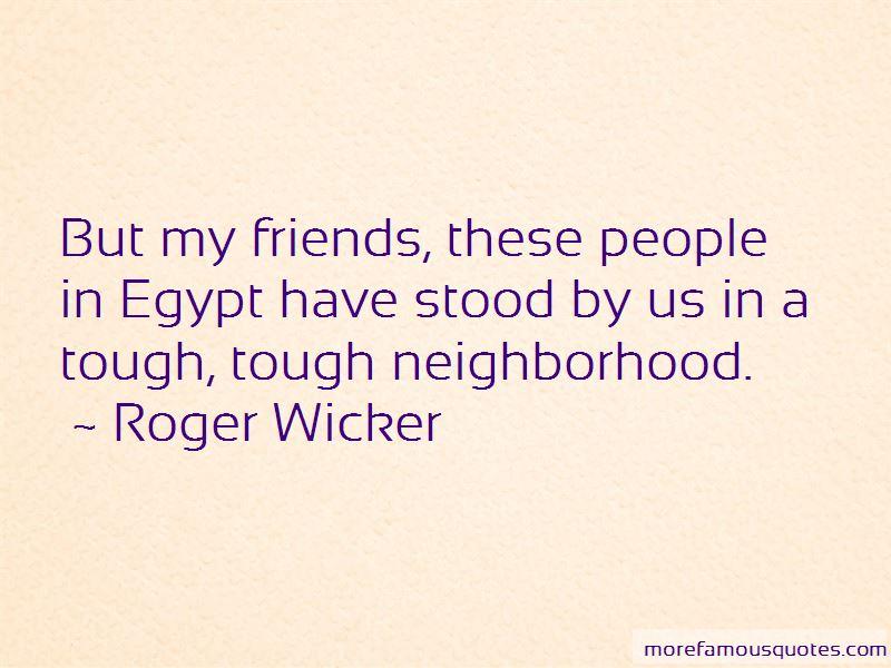 Tough Neighborhood Quotes