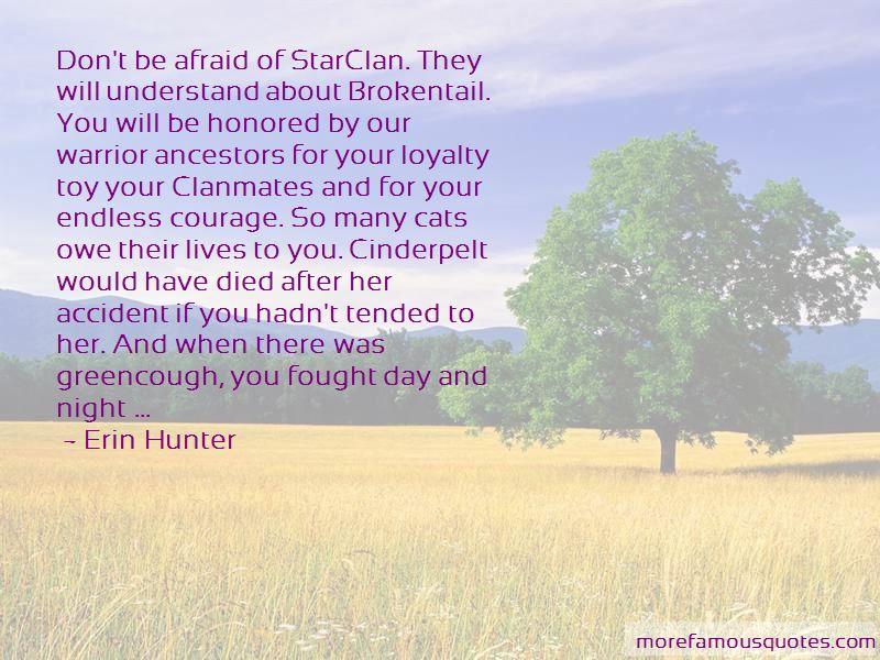 Warrior Cats Cinderpelt Quotes