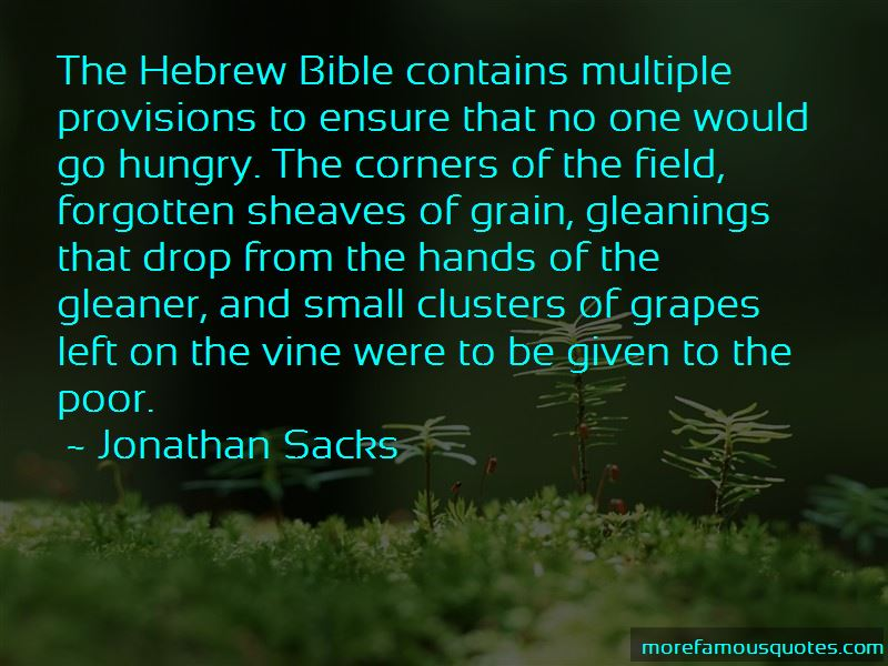 Bible Grapes Quotes