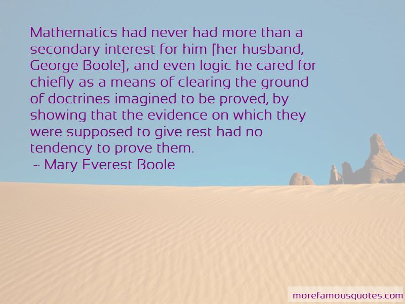 Boole Quotes