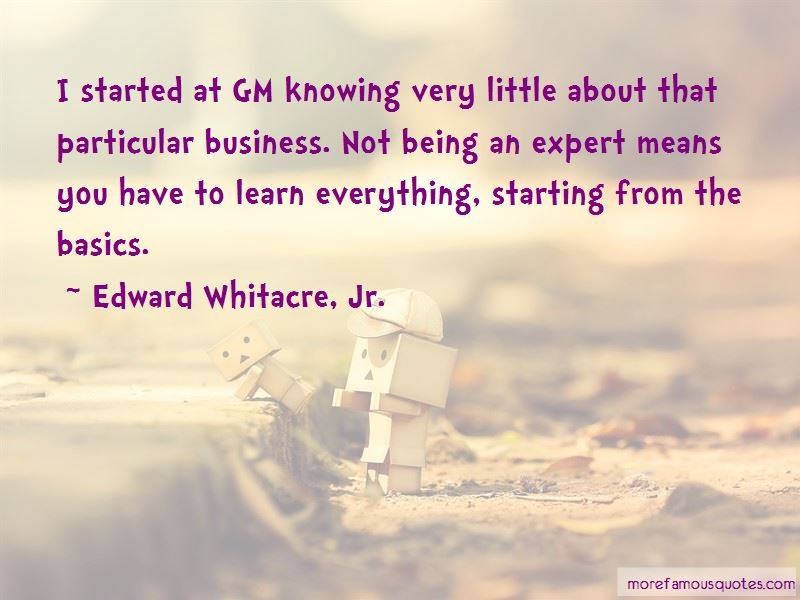 Business Basics Quotes