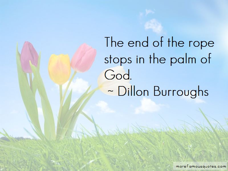 End Of The Rope Quotes