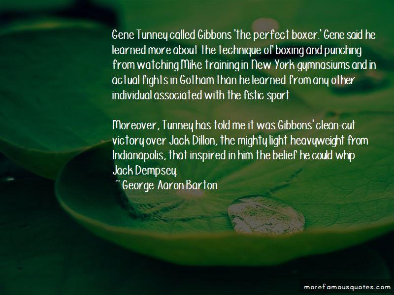 Jack Dempsey Boxer Quotes