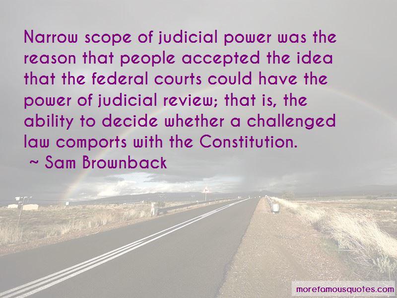 Judicial Review Constitution Quotes