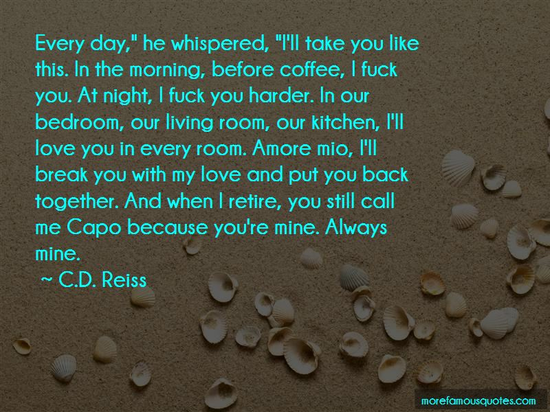 Love You Like Coffee Quotes Pictures 4