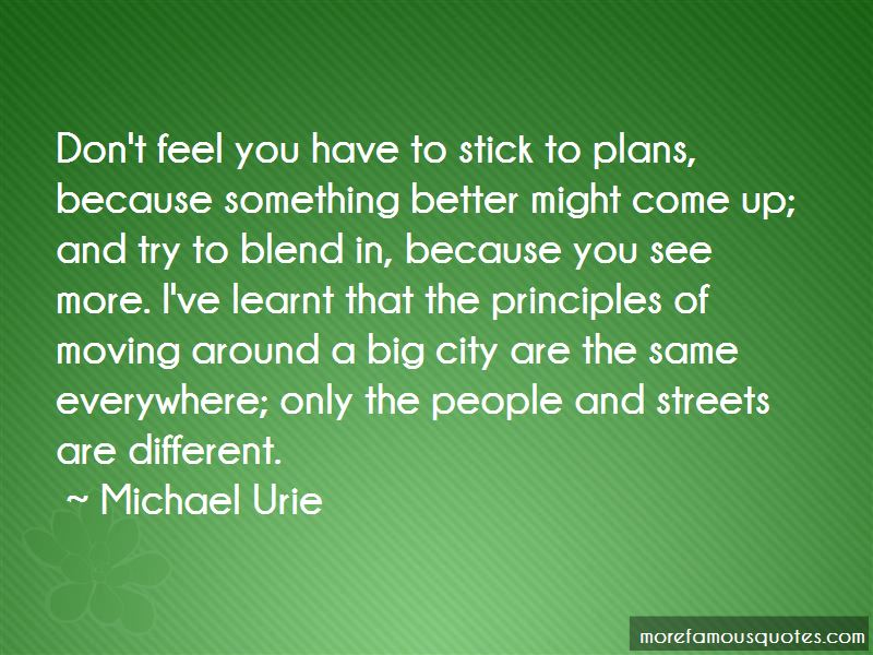 Moving To A Big City Quotes Pictures 2