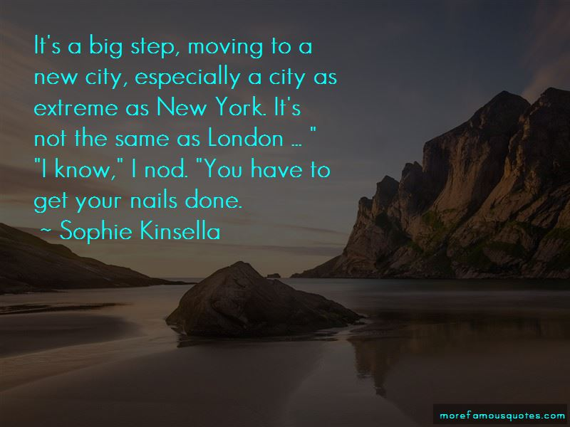 Moving To A Big City Quotes