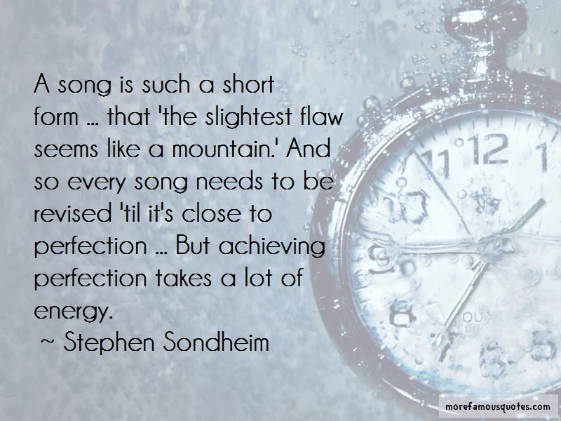 Quotes About Achieving Perfection