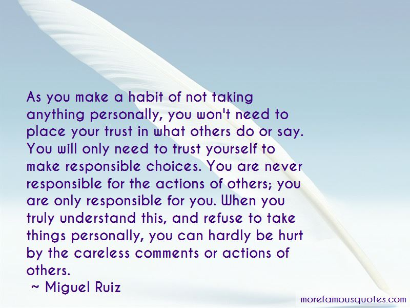 Actions Of Others Quotes Pictures 3