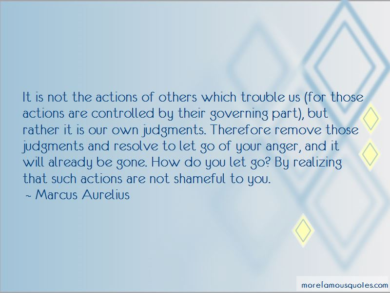 Actions Of Others Quotes Pictures 4
