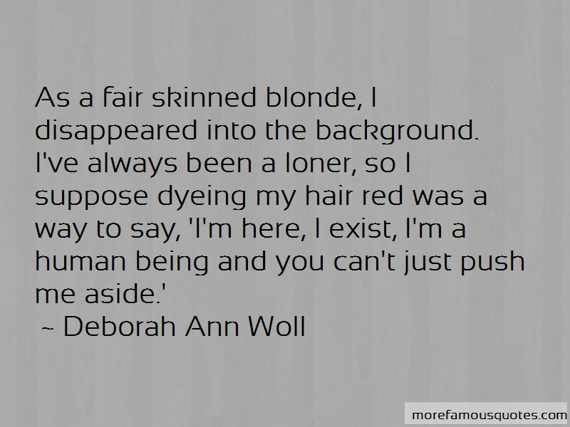Quotes About Being Fair Skinned