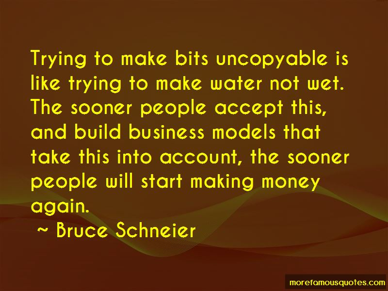 Quotes About Business Models