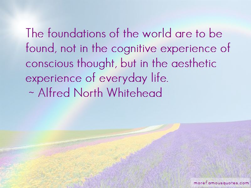 Quotes About Conscious Thought