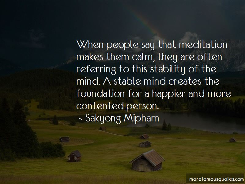 Quotes About Contented Person
