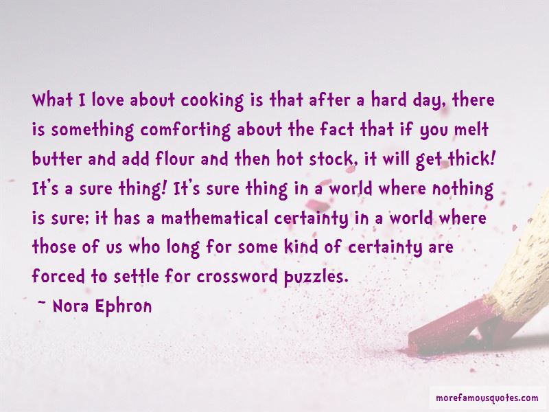 Quotes About Cooking For Those You Love