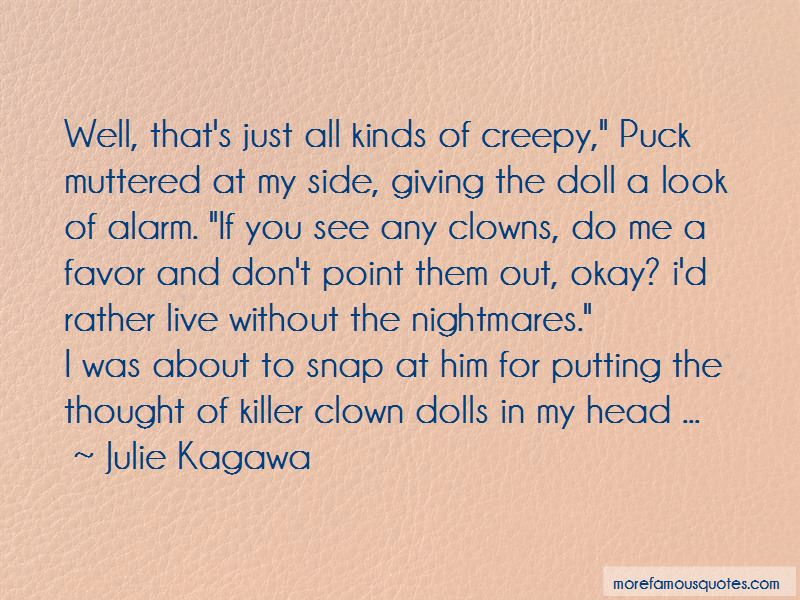 Quotes About Creepy Clowns