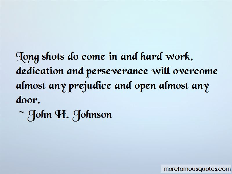 Quotes About Dedication And Perseverance