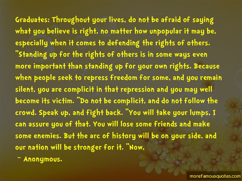 Quotes About Defending Your Rights