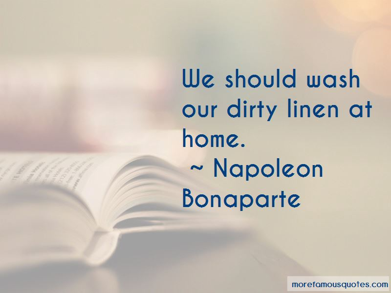 Dirty Linen Quotes Pictures 4